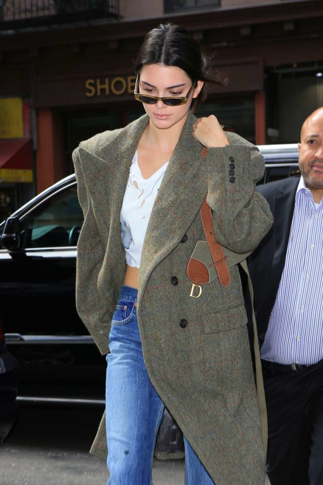 Kendall Jenner - Seen out in NYC