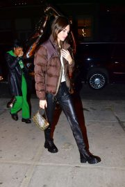 Kendall Jenner - Seen outside Cipriani in NYC