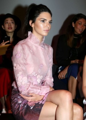 Kendall Jenner: Shiatzy Chen Fashion Show -06