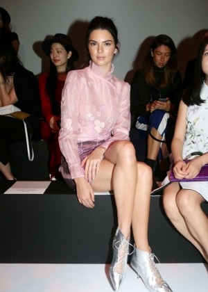 Kendall Jenner: Shiatzy Chen Fashion Show -10