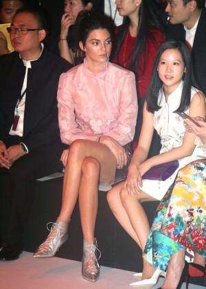 Kendall Jenner: Shiatzy Chen Fashion Show -13