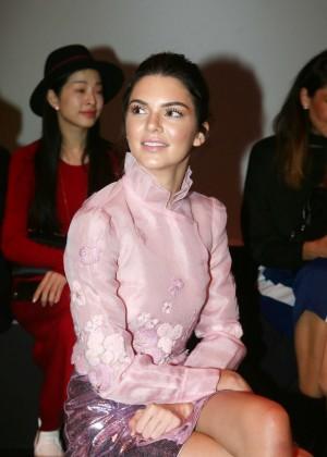 Kendall Jenner: Shiatzy Chen Fashion Show -14
