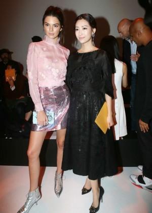 Kendall Jenner: Shiatzy Chen Fashion Show -18