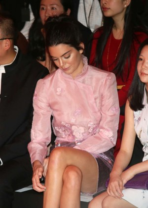 Kendall Jenner: Shiatzy Chen Fashion Show -19