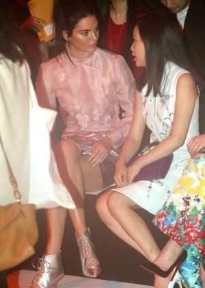Kendall Jenner: Shiatzy Chen Fashion Show -20