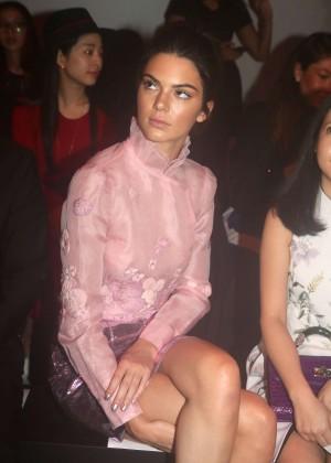 Kendall Jenner: Shiatzy Chen Fashion Show -21