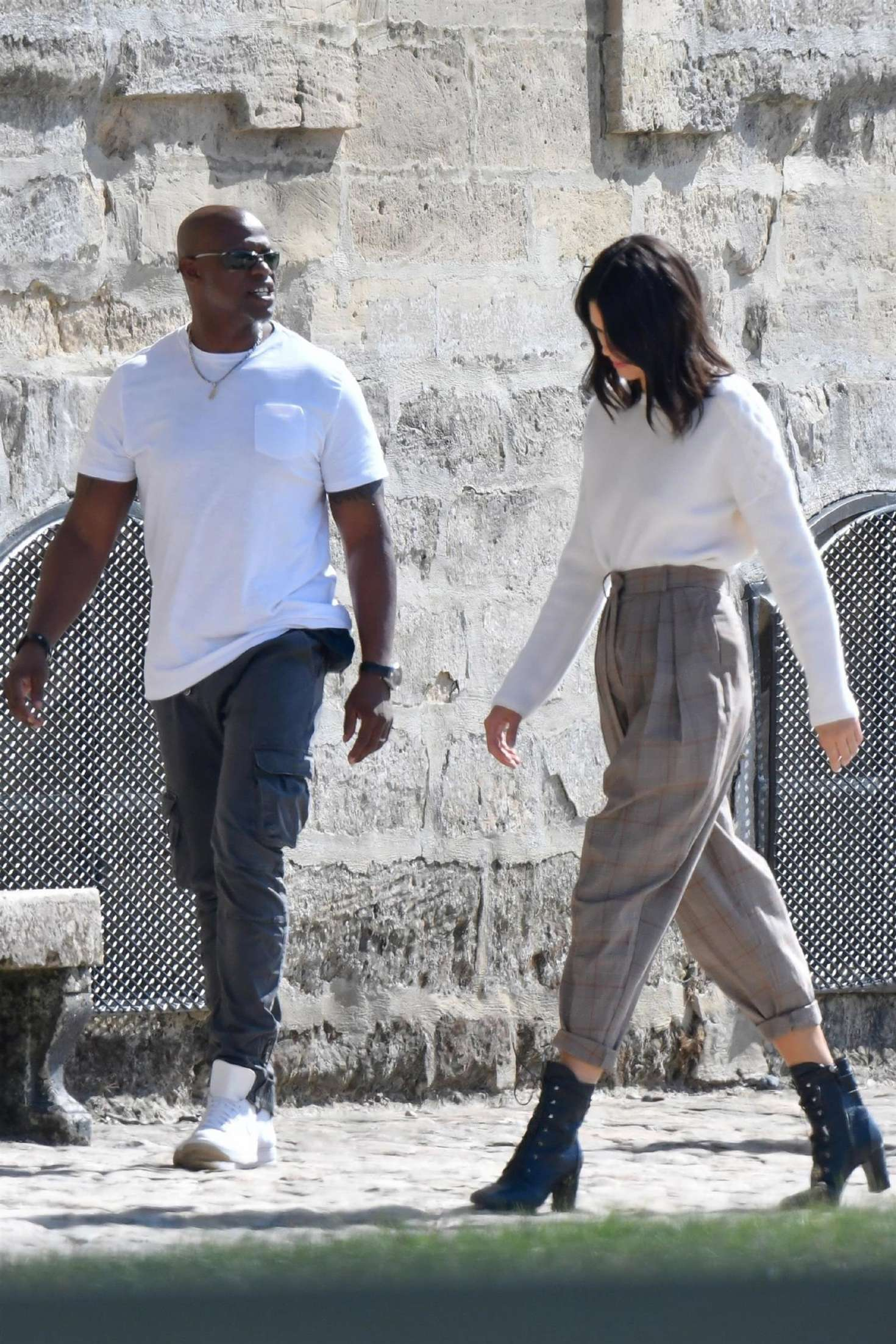Kendall Jenner 2018 : Kendall Jenner: Shooting of a commercial in France -04