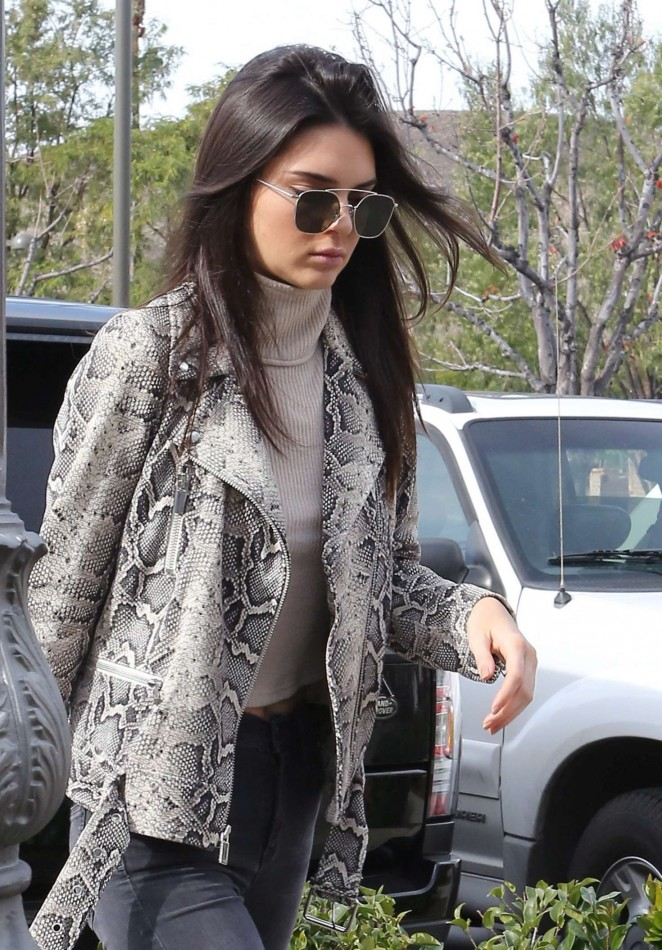Kendall Jenner Shopping with her mom in Calabasas