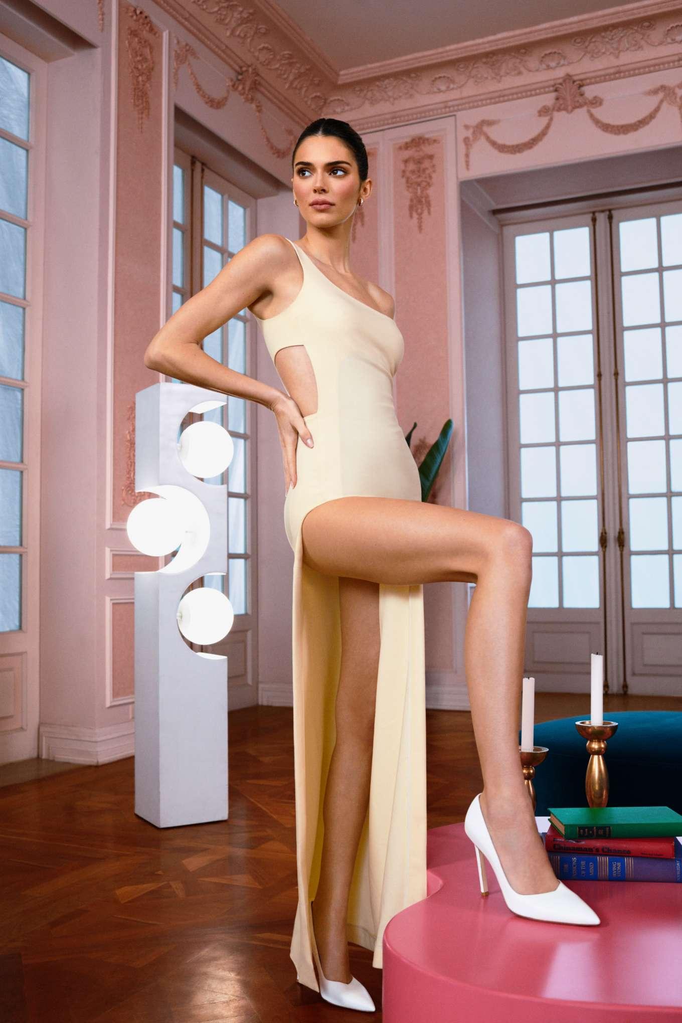Kendall Jenner - Stuart Weitzman photoshoot for Vogue