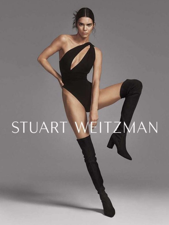 Kendall Jenner - Stuart Weitzman's Fall Campaign 2019