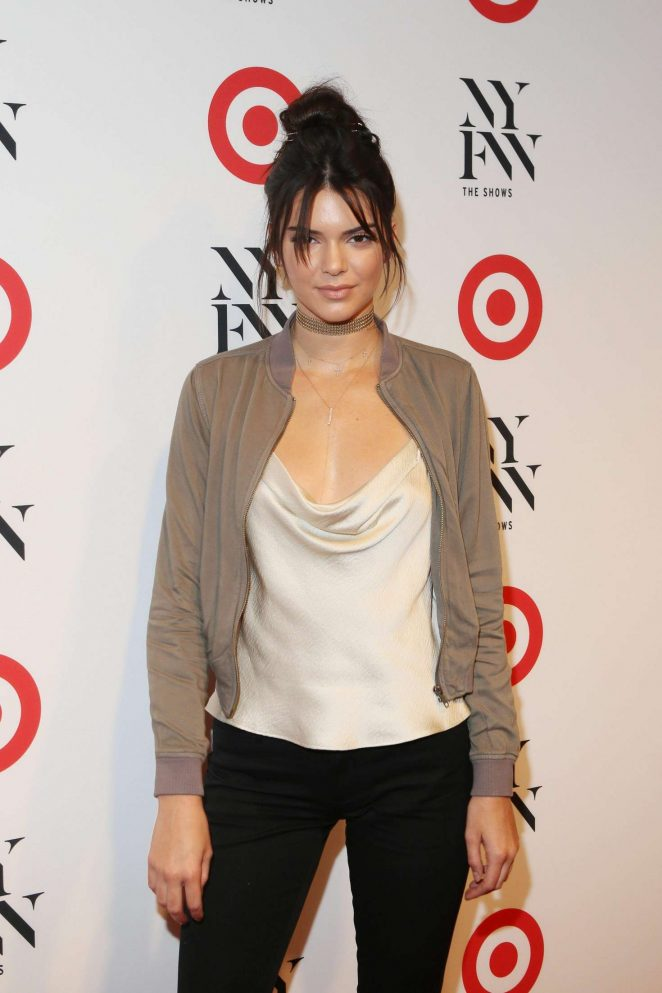 Kendall Jenner - Target + IMG NYFW Kickoff Event in New York