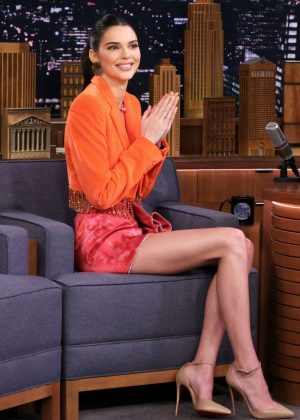Kendall Jenner - 'The Tonight Show Starring Jimmy Fallon' in NYC