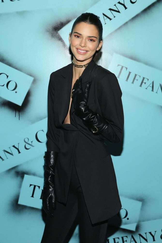 Kendall Jenner - Tiffany & Co. Modern Love Photography Exhibition in NYC