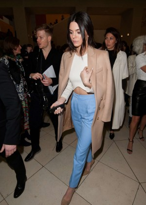 Kendall Jenner - Topshop Unique Fashion Show 2015 in London