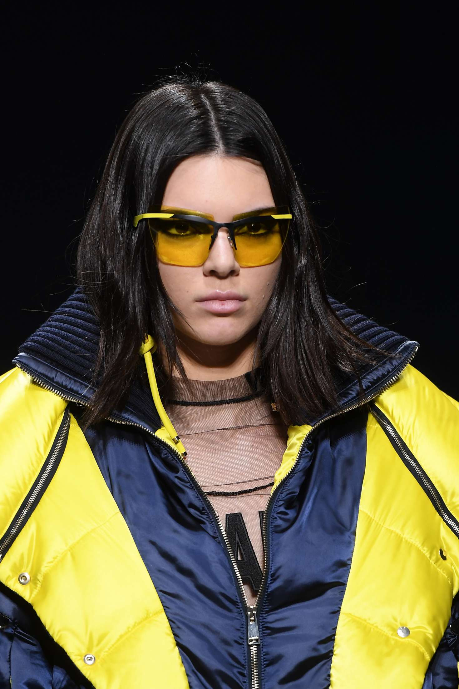 Kendall Jenner 2017 : Kendall Jenner: Versace Runway Show at MFW 2017 -01