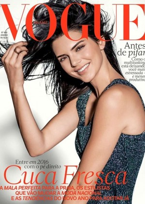 Kendall Jenner - Vogue Brazil Cover (January 2016)