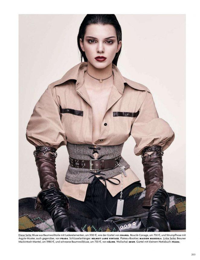 Kendall Jenner Vogue Germany 2016 10 Gotceleb