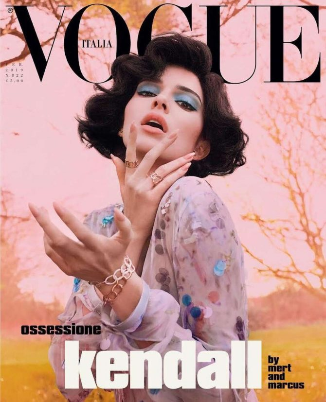 Kendall Jenner – Vogue Italy Magazine (February 2019)