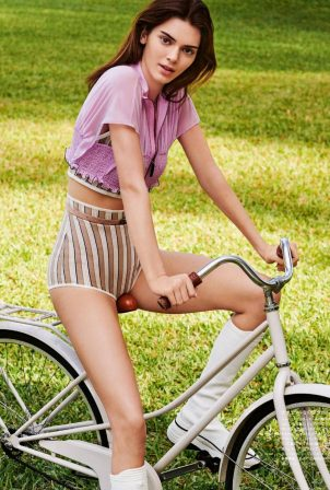 Kendall Jenner - Vogue Japan Magazine (July 2020) adds