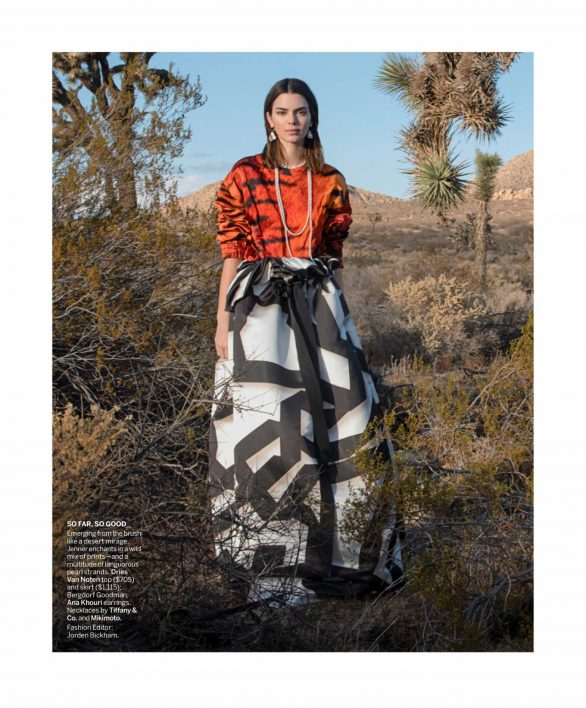 Kendall Jenner - Vogue magazine - March 2020