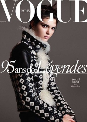Kendall Jenner - Vogue Paris Magazine Cover (October 2015)