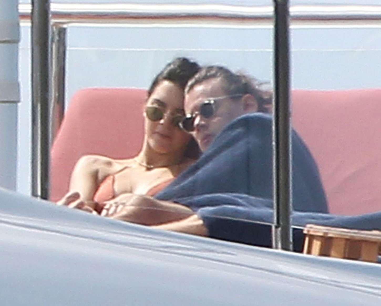 Kendall Jenner 2016 : Kendall Jenner: Wearing a Bikini on a yacht in Antigua-10