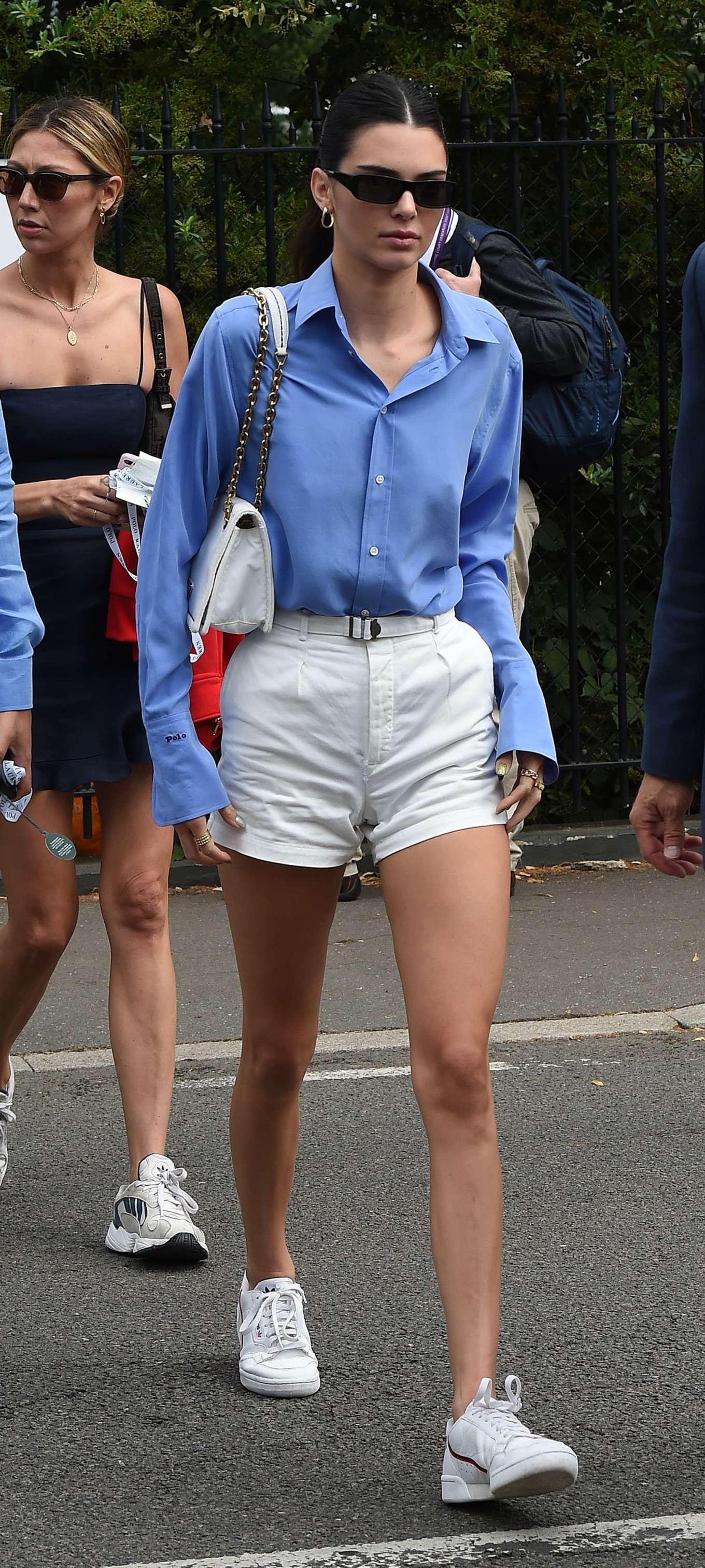 Kendall Jenner 2019 : Kendall Jenner – Wimbledon Tennis Championships 2019-06