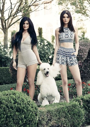 Kendall & Kylie Jenner - PacSun Collection (May 2015)
