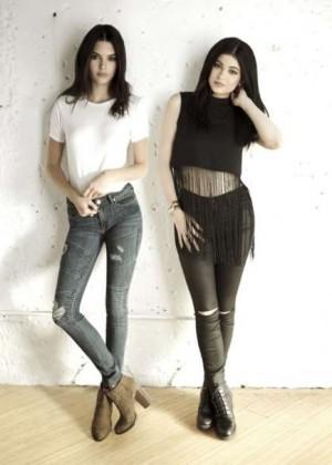 Kendall & Kylie Jenner - PacSun 'Las Rebeldes' Fall 2015