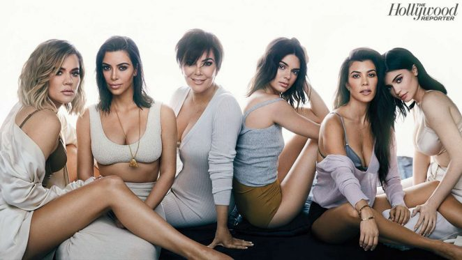 Kendall Kylie Kris Jenner and Kim Kourtney Khloe Kardashian - Hollywood Reporter (August 2017)