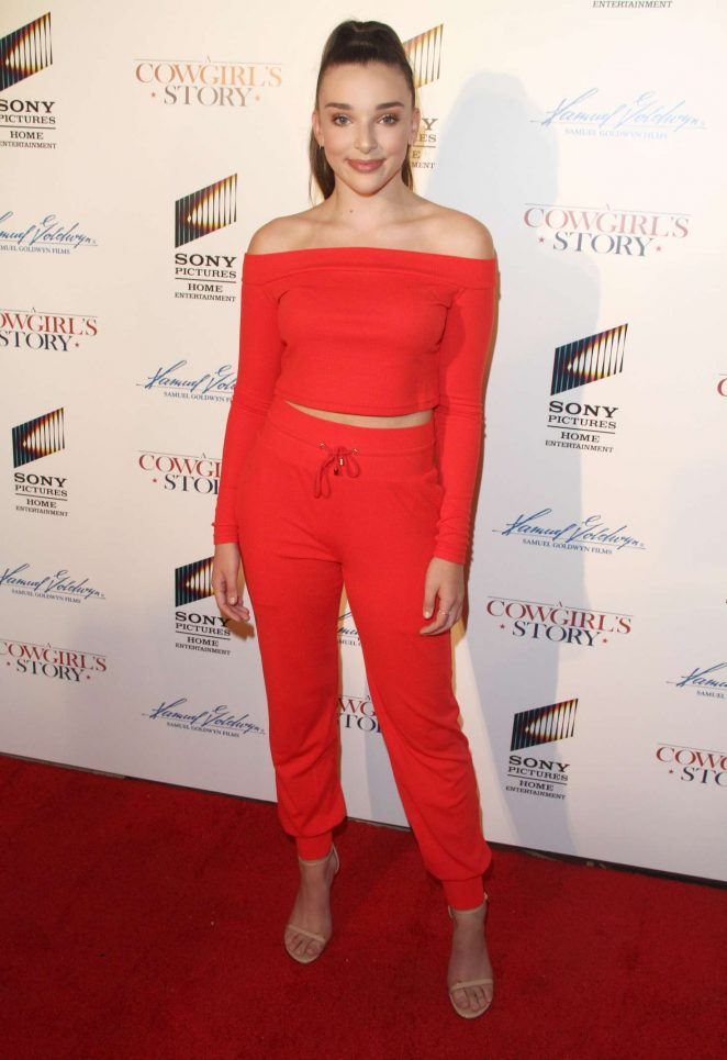 Kendall Vertes - 'A Cowgirls Story' Premiere in Los Angeles