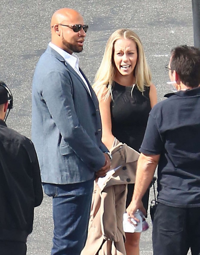 Kendra Wilkinson at 'Dancing With The Stars' Studios in Hollywood