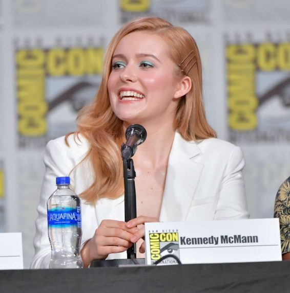 Kennedy McCann - 'Nancy Drew' Panel at 2019 Comic Con in San Diego