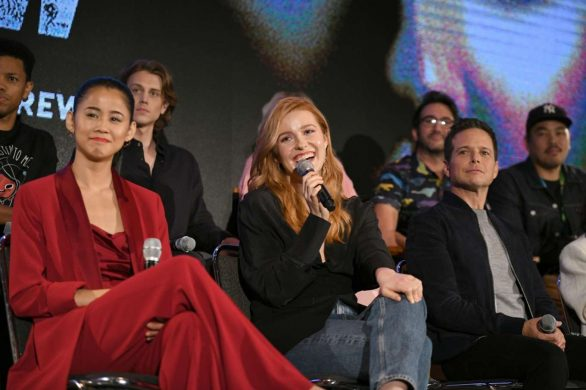 Kennedy McCann - Nancy Drew Panel at 2019 New York Comic Con