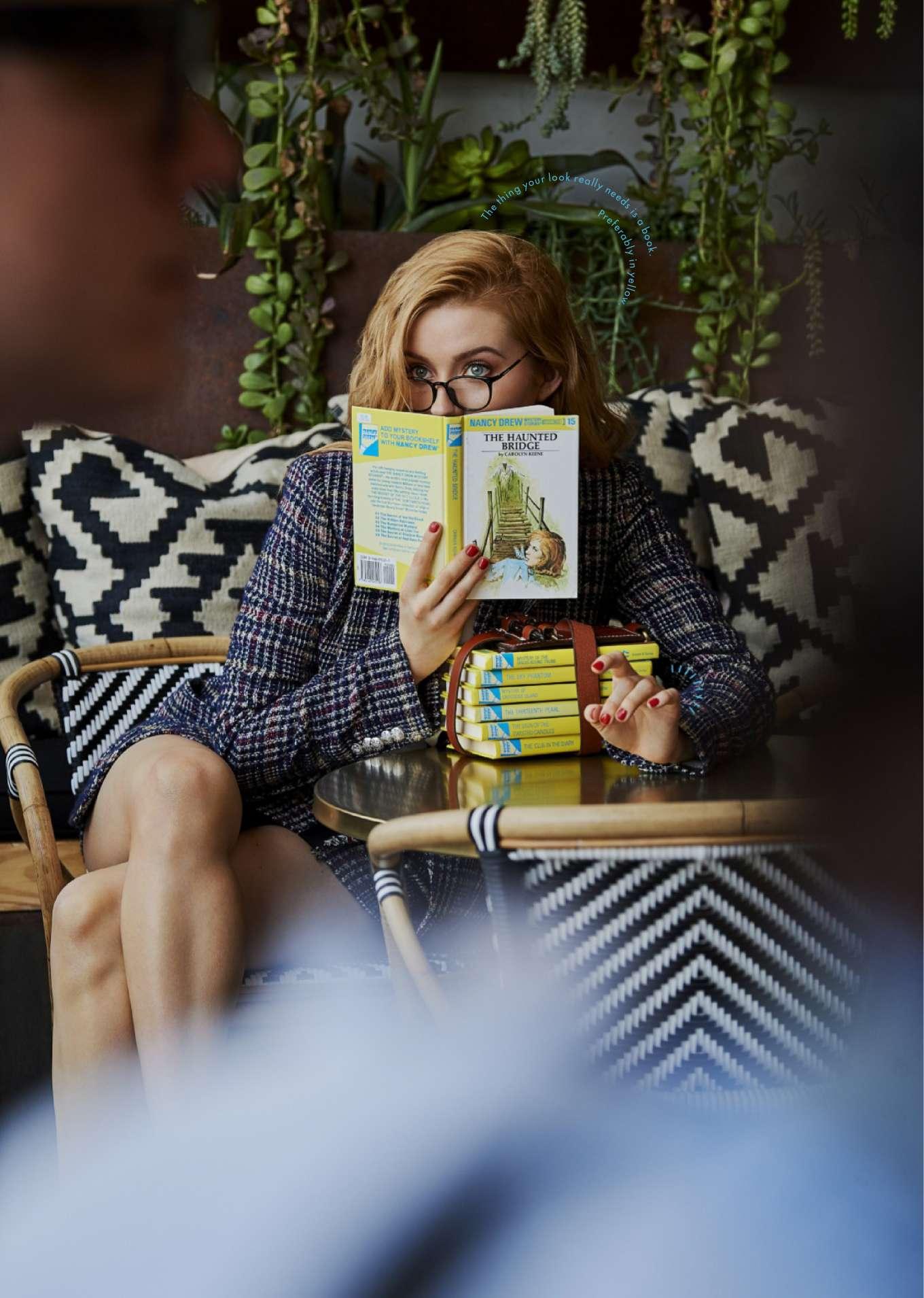 Kennedy McMann - Cosmopolitan Magazine (October 2019)
