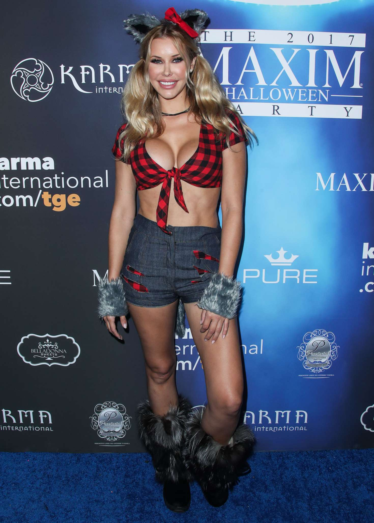 Kennedy Summers 2017 : Kennedy Summers: 2017 Maxim Halloween Party -08