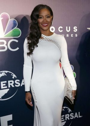 Kenya Moore - 2017 Universal, NBC, Focus Features and E! Golden Globes Party in LA