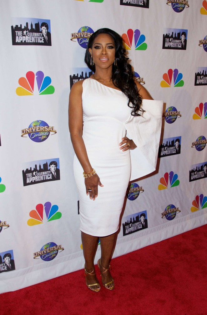Kenya Moore - The Celebrity Apprentice Finale in New York