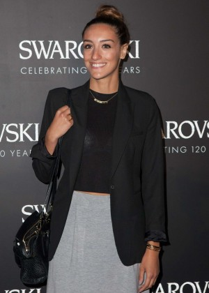 Kenza Zouiten - Swarovski 120 X Rizzoli Exhibition & Cocktail at PFW SS 2016 in Paris