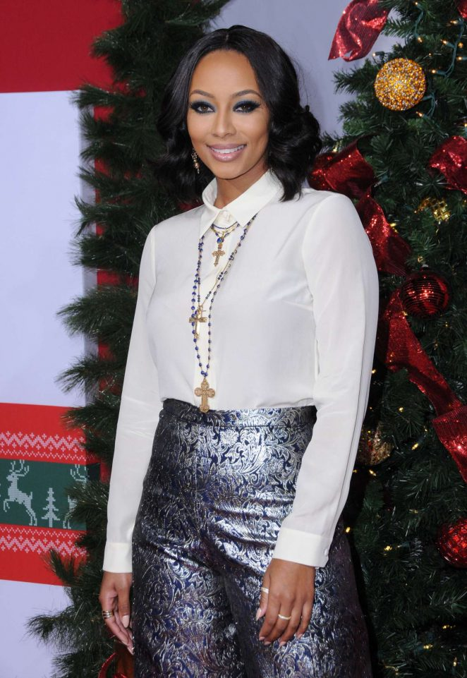 Keri Hilson - 'Almost Christmas' Premiere in Westwood