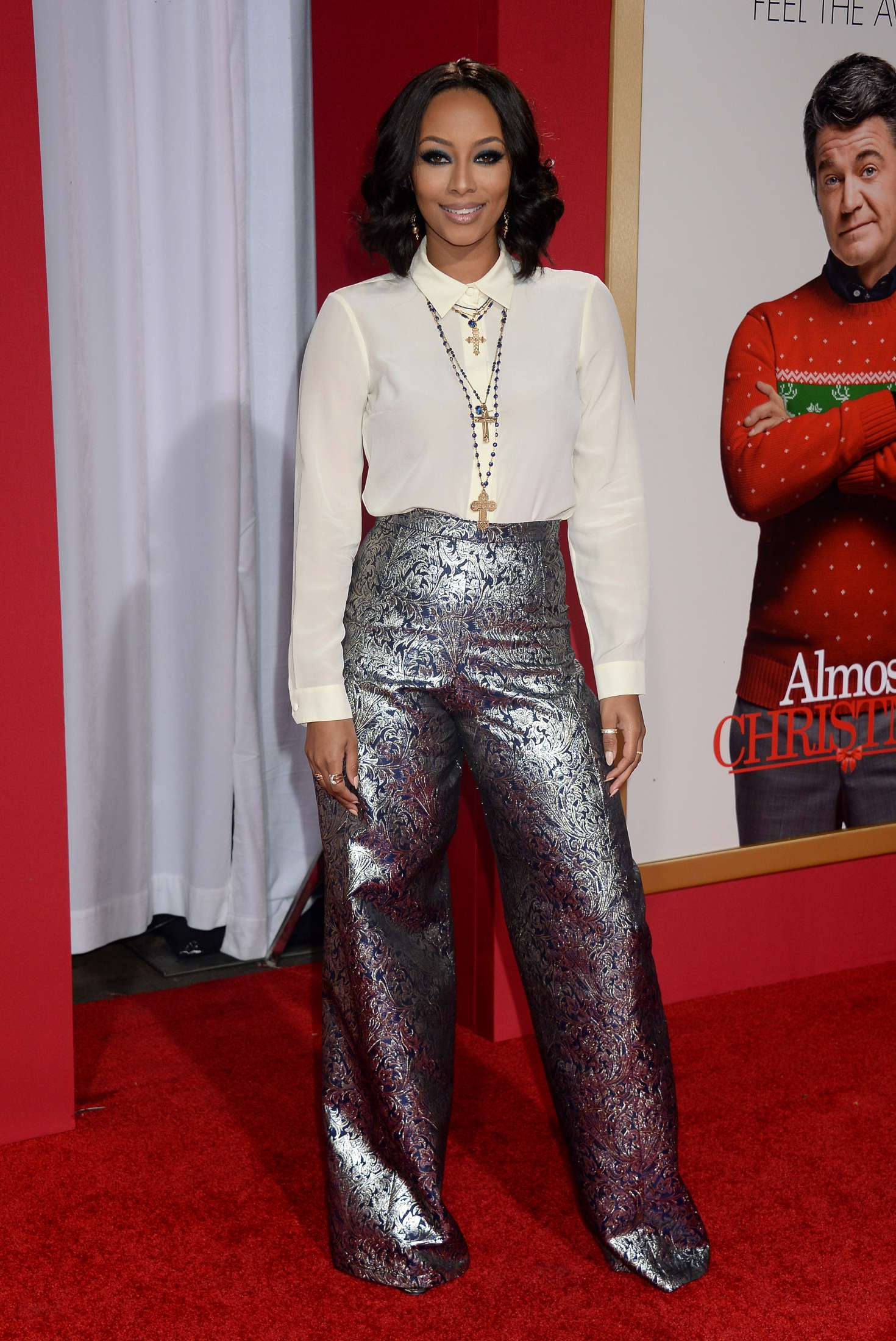 Keri Hilson - \'Almost Christmas\' Premiere in Westwood