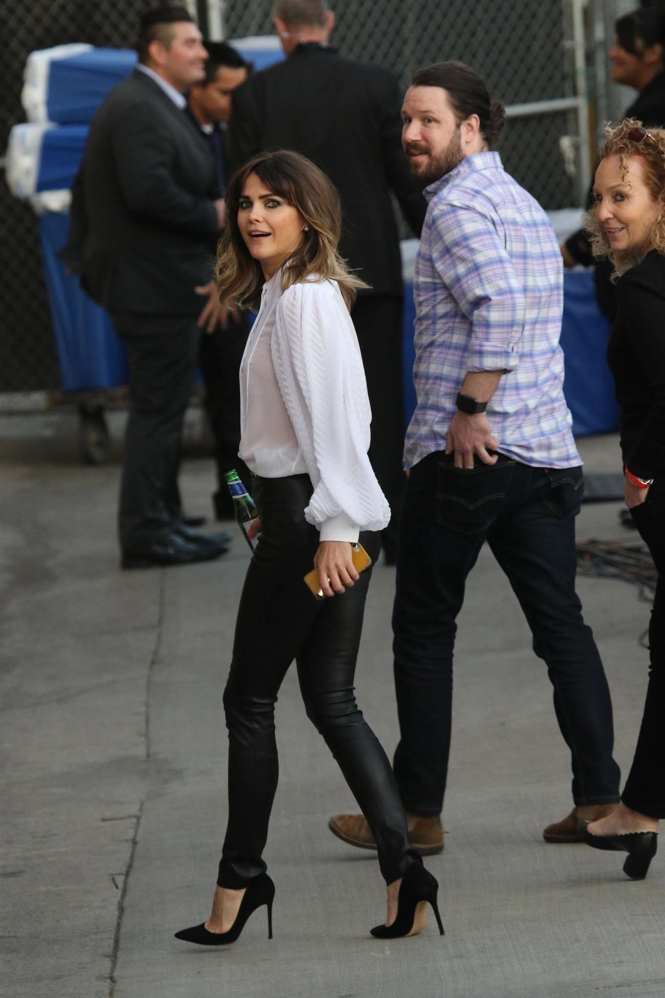 Keri Russell - Arrives at Jimmy Kimmel Live in Los Angeles