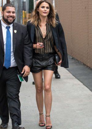 Keri Russell - Arriving at Jimmy Kimmel Live! in LA