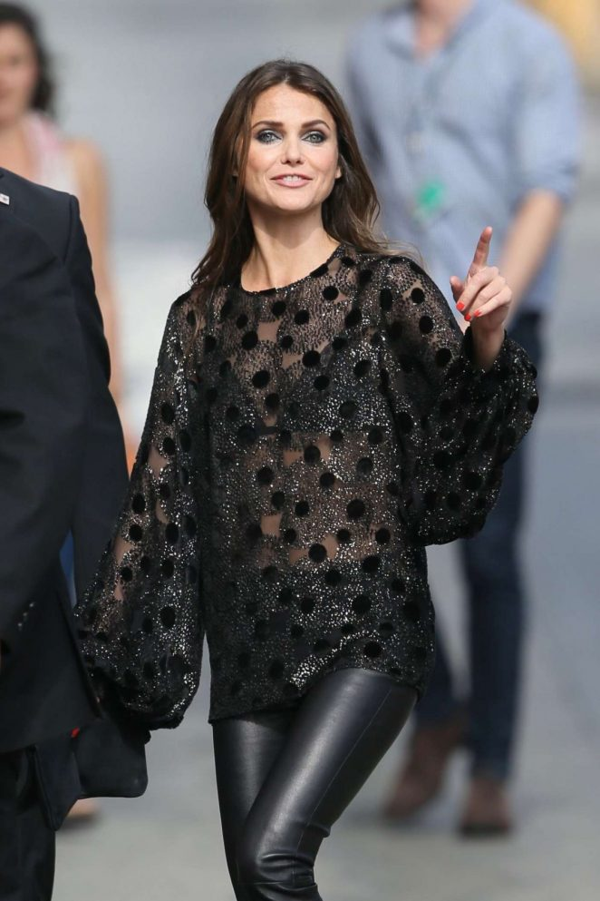Keri Russell - Arriving at Jimmy Kimmel Live! in LA
