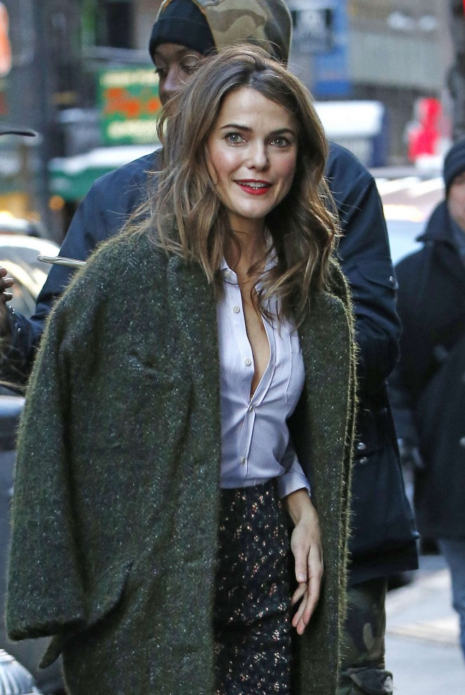 """Keri Russell - Arriving the """"Today"""" Show in NYC"""