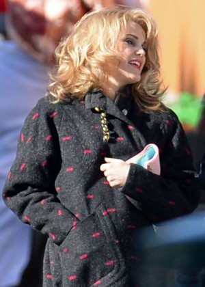 Keri Russell - Filming 'The Americans' in New York