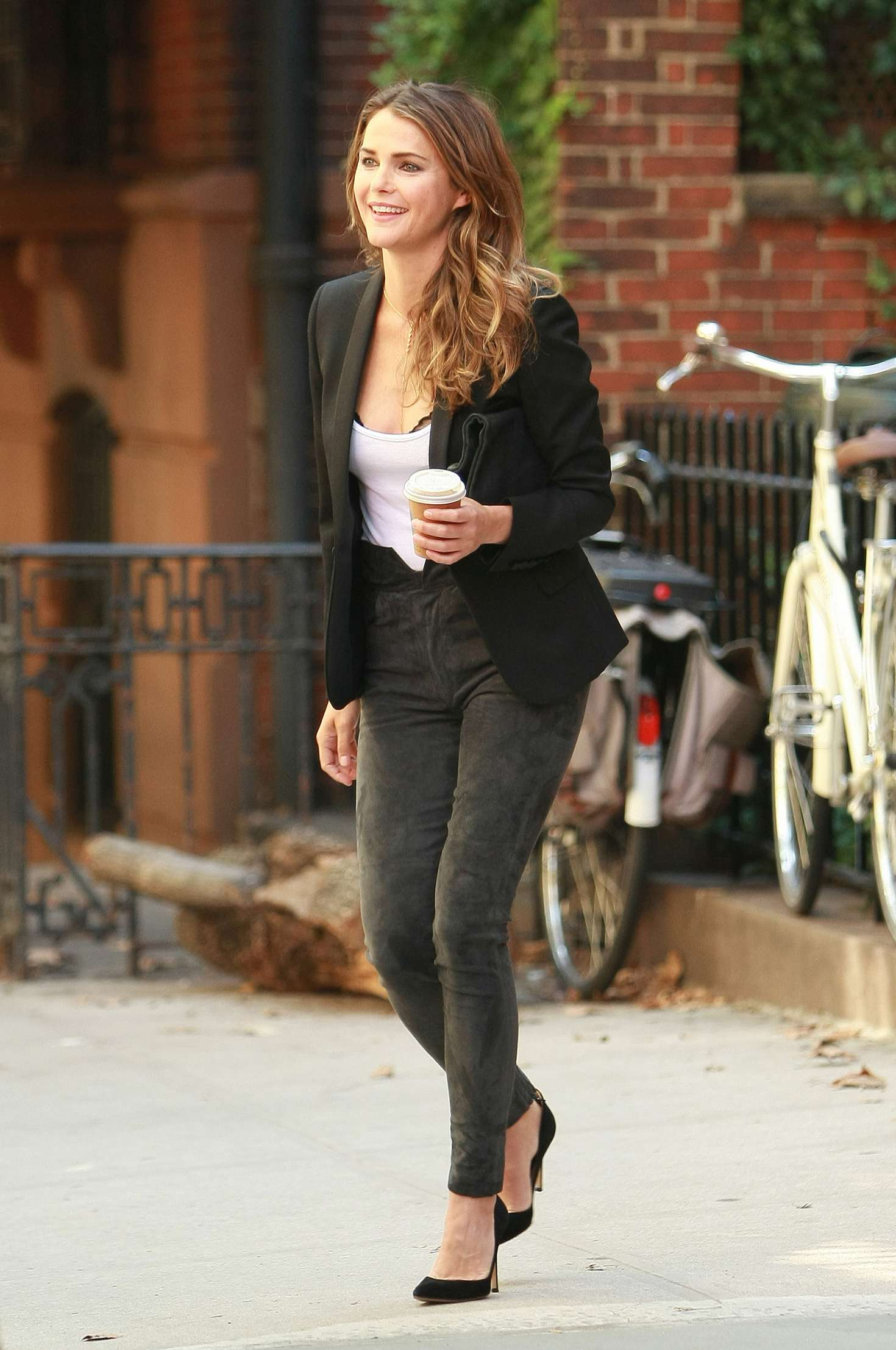 Keri Russell in Tight Jeans out in NY