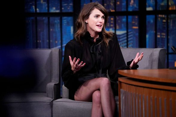 Keri Russell - On 'Late Night with Seth Meyers' in New York City