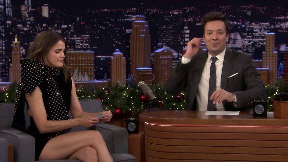 Keri Russell - On 'The Tonight Show Starring Jimmy Fallon' in NYC