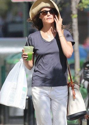 Keri Russell - Out and about in Brooklyn